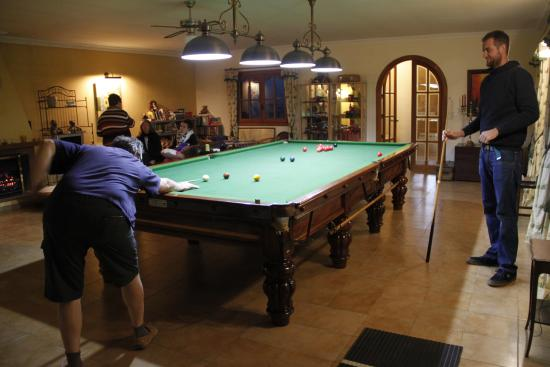 fun and relax area with full size snooker table and darts picture rh tripadvisor co za