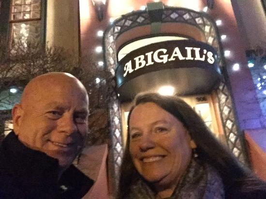 Abigail's Hotel: Close to everything downtown.....and wonderful