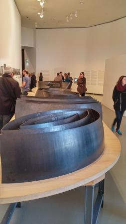 "Guggenheim Museum Bilbao: information on ""The Matter of Time"" installation (Richard Serra)"