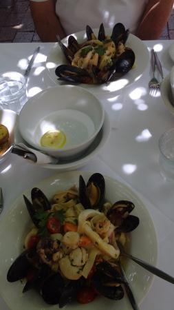 Camden, Avustralya: The best seafood pasta we have ever had!