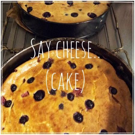 Vlissingen, Belanda: Heerlijke cheesecake... :-)
