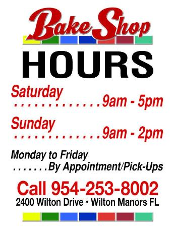 Wilton Manors, FL: Our hours