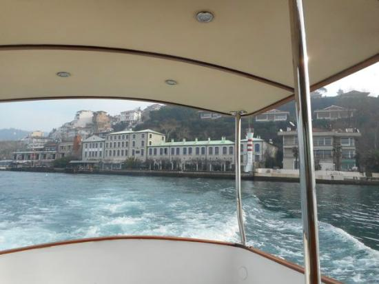 Sumahan on the Water: A view of the hotel from their boat.