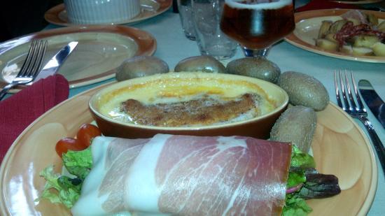 L'auberge savoyarde, Lyon - La roblochonade qui baigne dans le gras