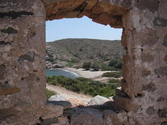 Lasithi Prefecture, Grekland: Правый пляж
