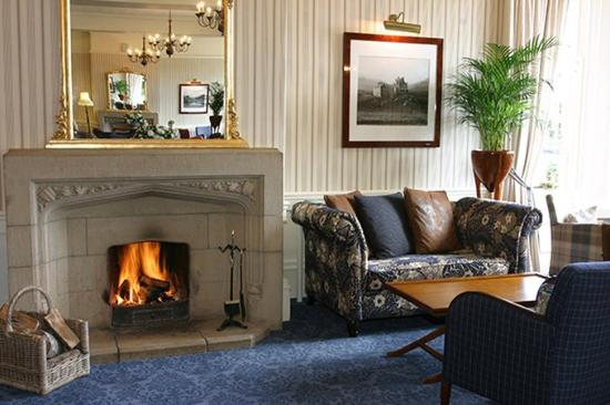 Grantown-on-Spey, UK: The Craiglynne Hotel Grantown On Spey Lounge Fire