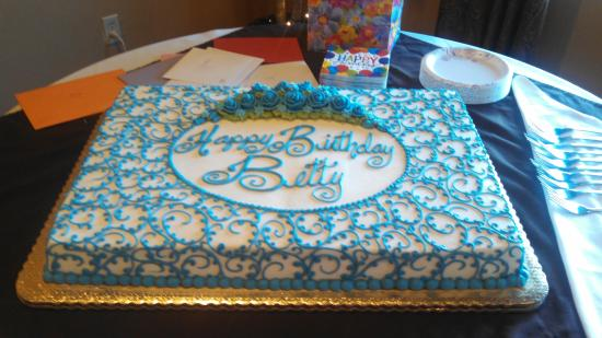 Excellent Prettiest Birthday Cake Ever And Tasted Good Too Picture Of Birthday Cards Printable Giouspongecafe Filternl