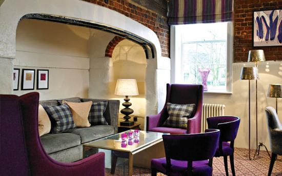 Woburn, UK: Lounge