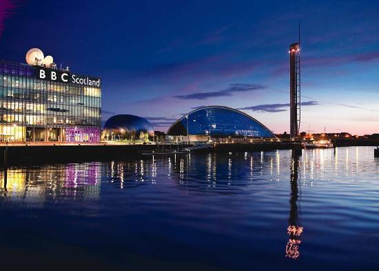 Hilton Garden Inn Glasgow City Centre: Science centre