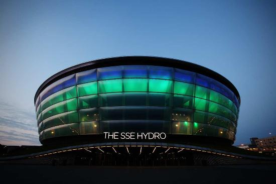 Hilton Garden Inn Glasgow City Centre: Hydro Arena