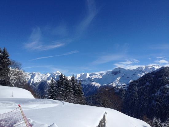Samoens, Francia: Great view over the Grand Massif