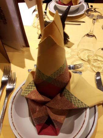 Hotel Daniela : al tavolo