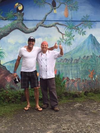 El Castillo, คอสตาริกา: me and chef Benedicto