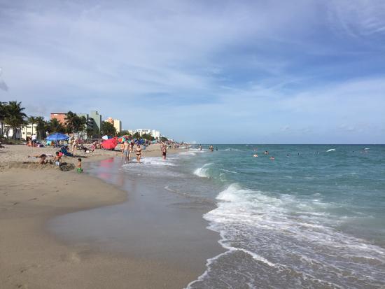 Hollywood Beach: Linda praia.. Tranquila