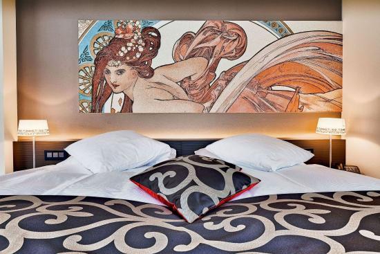 Spiez, Sveits: Standard twin room