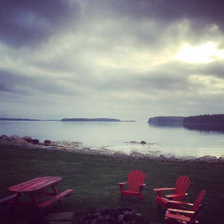 Western Shore, Canadá: The view from our cottage. So peaceful.