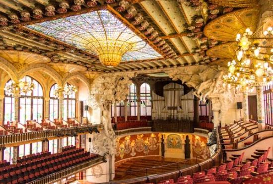 Palau de la Música Catalana, BARCELONA - Picture of Palau ...