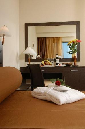 Rafina, Grécia: Double Room Town View