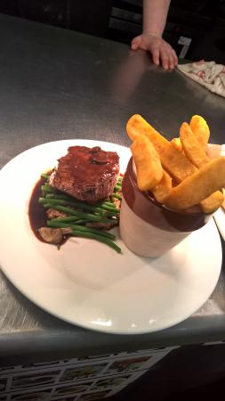 Wellington Hotel Restaurant: angus fillet steak