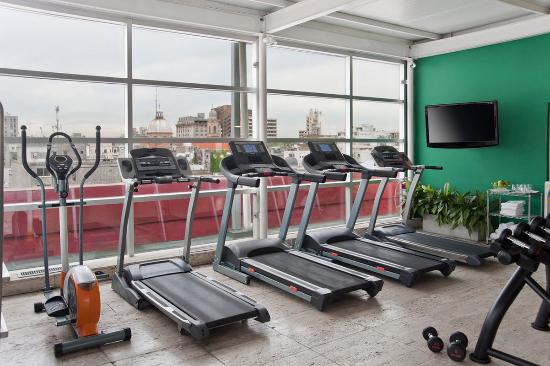 NH Montevideo Columbia: Gym