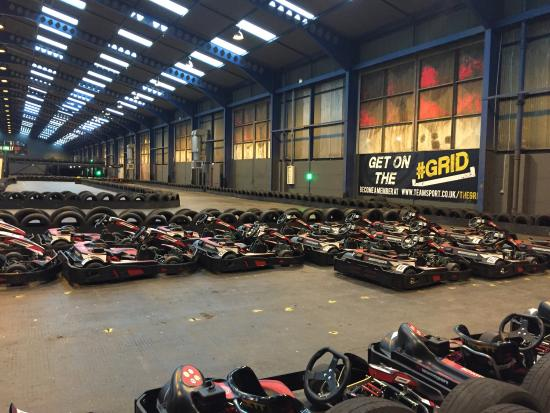 TeamSport Indoor Go Karting Liverpool