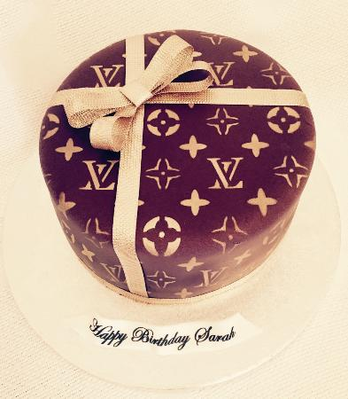 Lv gift cake picture of petits fours patisserie birmingham petits fours patisserie lv gift cake negle Images