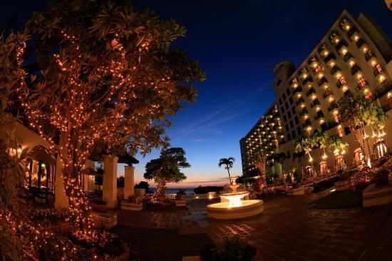 Hotel Nikko Alivila Yomitan Resort Okinawa: Patioillumination