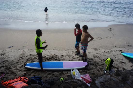 Senggigi, Indonesia: Beginner step