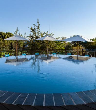 Magaliesburg, Zuid-Afrika: Mount Grace Spa – Outdoor Pool