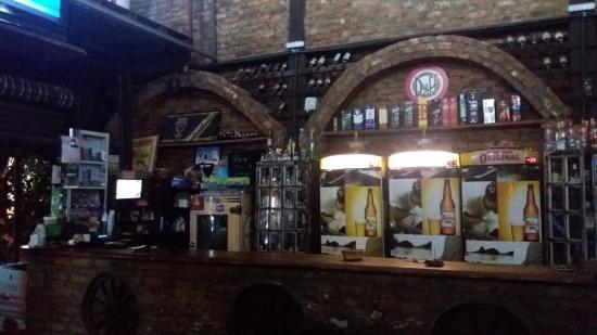 Olaria Bar: Decoração rústica!
