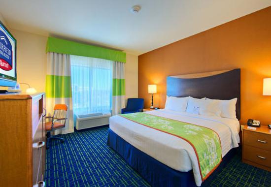 Fairfield Inn & Suites San Antonio SeaWorld/Westover Hills: King Guest Room
