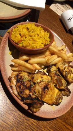 Nando S Chicken Thighs Four Boneless Chicken Thighs Flame Grilled With Skin On
