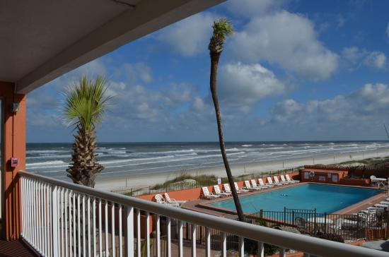 The View From Room 202 Picture Of Quality Inn Suites On Hotel Beach Ormond Trivago