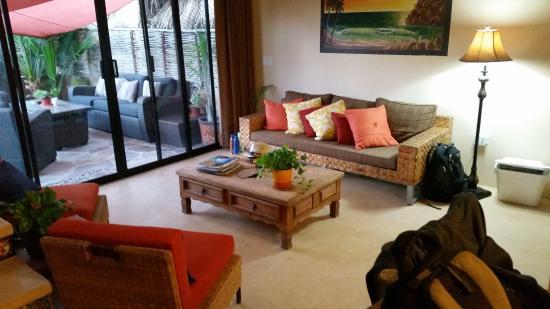 Villas de Cerritos Beach: Living room