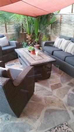 Villas de Cerritos Beach: Primary outdoor patio