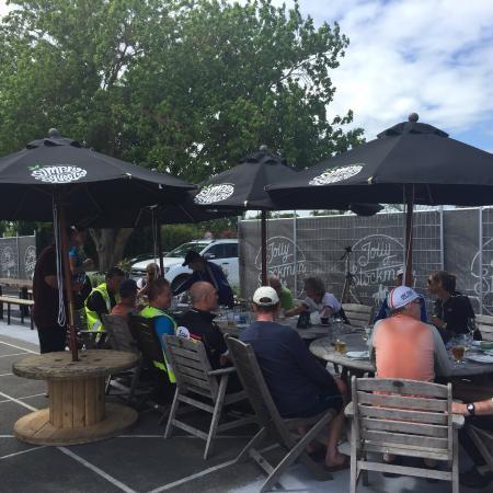 Gisborne, Nueva Zelanda: Hosting the Cyclists