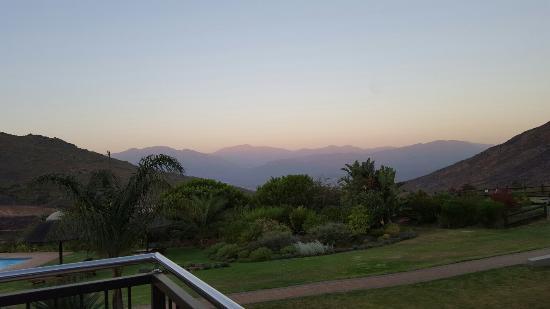 Citrusdal, جنوب أفريقيا: View from Verandah