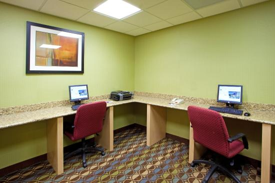 Торнбург, Вирджиния: Get Work Done on the road in our Business Center