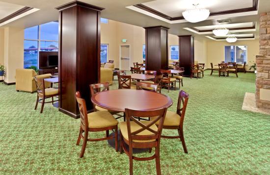 """Ontario, Oregon hotel's """"Great Room""""."""