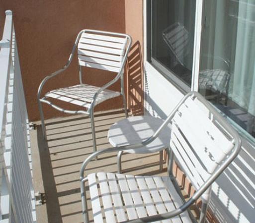 Strasburg, Вирджиния: Executive Suite Balcony