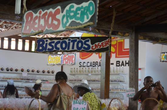 Santa Cruz Cabralia, BA: Loja de Doces de Biscoitos