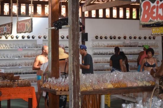 Santa Cruz Cabralia, BA: Ainda na loja