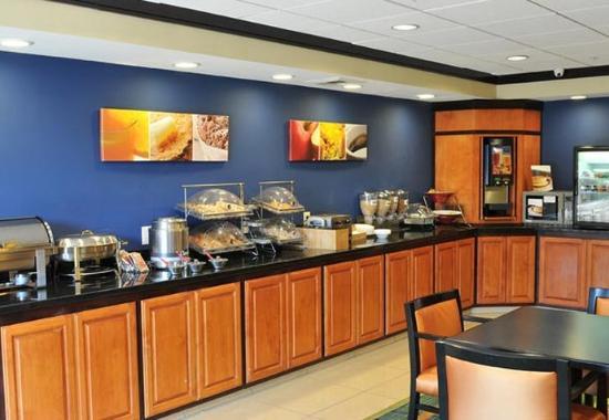 Clovis, Californien: Breakfast Buffet