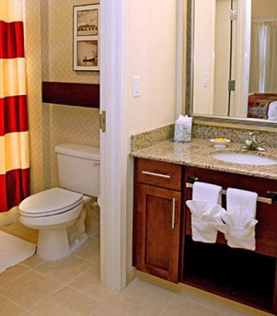 Port Saint Lucie, Floryda: Suite Bathroom