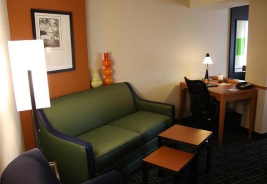 Morgantown, Batı Virjinya: King Suite Sitting Area