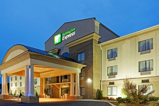 The New Holiday Inn Express Roanoke-Troutville!