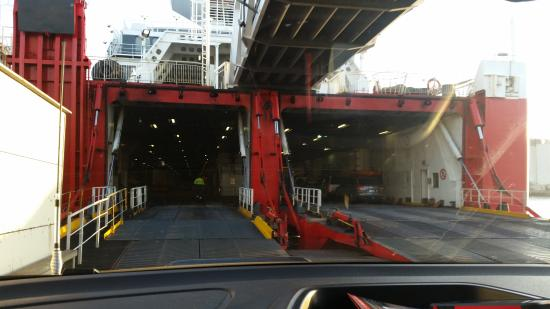Devonport, Austrália: Boarding ship