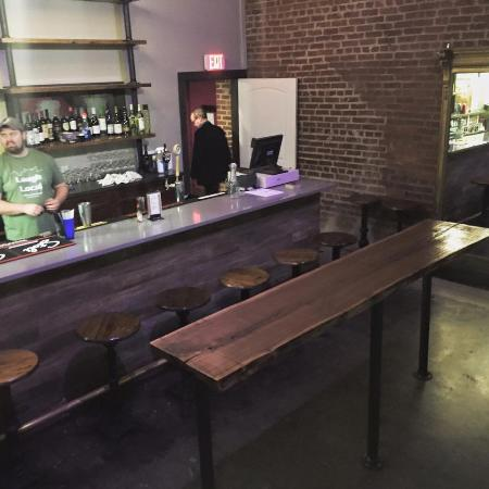 Amazing The Backstage Bar Picture Of The Comedy Catch Chattanooga Gmtry Best Dining Table And Chair Ideas Images Gmtryco