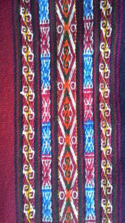 Chinchero, Perú:  el diseño loraypo