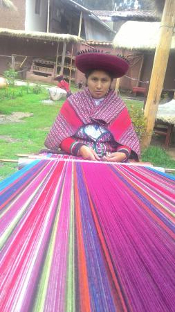 Chinchero, Perú: centros de mesa